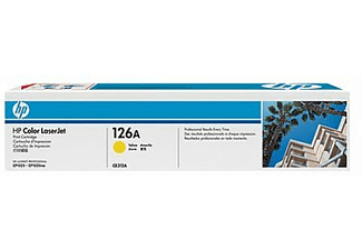 HP Tonerpatrone Nr. 126A Gelb (CE312A)