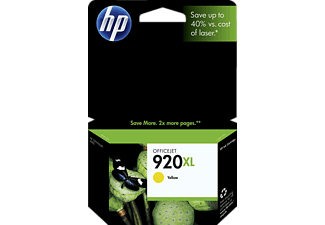 HP NR 920 XL Jet d'encre Jaune (CD974AE)