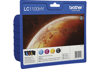 BROTHER LC1100VALBP Blister Noir - Cyan - Magenta - Jaune