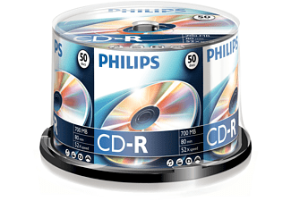 PHILIPS CD-R 80 52X CB (50)