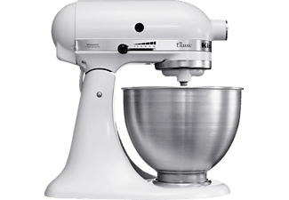 KITCHEN AID 5 K 45 SSEWH CLASSIC WEISS 4,3L
