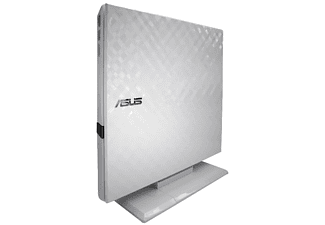 Grabadora de DVD - ASUS SDRW-08D2S-U, Slim retail, Externa, Windows y Mac OS, blanco