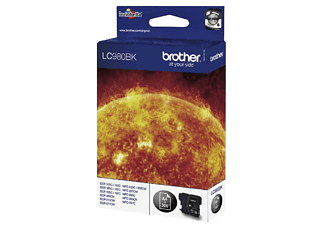 BROTHER LC980BK BLACK - Tintenpatrone (Schwarz)