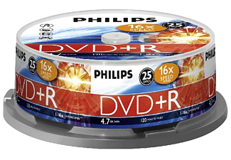 PHILIPS DVD+R 16X CB (25)