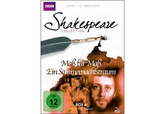 SHAKESPEARE COLLECTION 4.BOX - (DVD)