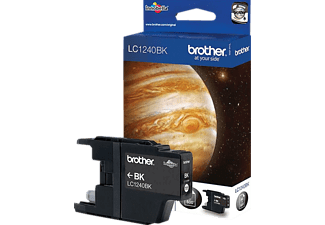 Cartucho de tinta - Brother LC1240BKBP, negro