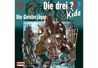 SONY MUSIC ENTERTAINMENT (GER) Die drei ??? Kids 21: Die Geisterjäger