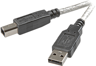 Vivanco USB 2.0 compatible connection cable, 1.8 m 1.8m USB A USB B Macho Macho cable USB