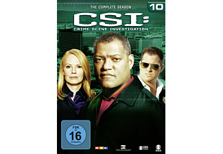 CSI: Crime Scene Investigation - Staffel 10 - (DVD)