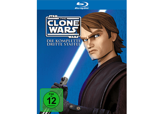 Star Wars: The Clone Wars - Staffel 3 - (Blu-ray)