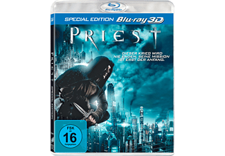 PRIEST 3D Science Fiction Blu-ray 3D