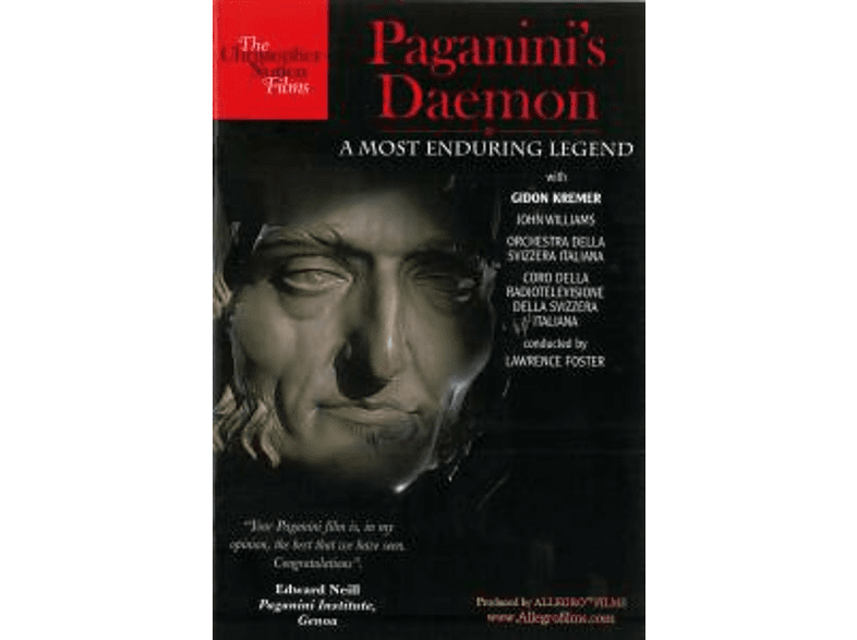 VARIOUS - Paganini's Daemon:- A Most Enduring Legend [DVD]