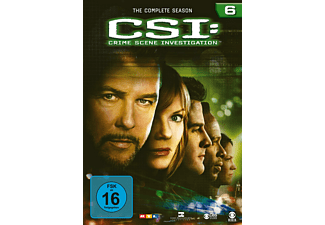 CSI: Crime Scene Investigation - Staffel 6 Krimi DVD