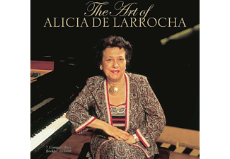 Alicia De Larrocha - The Art Of Alicia De Larrocha [CD]