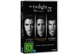 Die Twilight Saga 1-3 - Was bis(s)her geschah Box Fantasy DVD