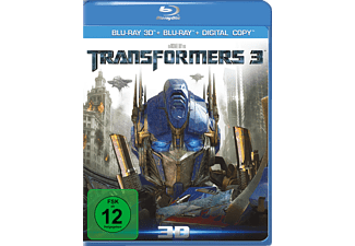 Transformers 3 - Limited Edition Action Blu-ray 3D