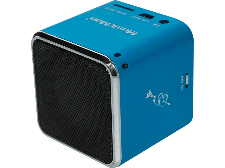 TECHNAXX Mini Musicman Soundstation 3530 Docking-Station, Blau