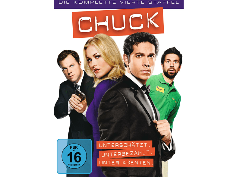Chuck - Staffel 4 [DVD]