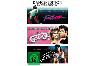 Dance-Edition: Footloose / Grease / Flashdance - (DVD)
