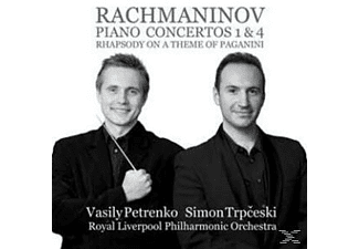 Simon Trpceski, Vasily Petrenko, Royal Liverpool Po - Rachmaninov: Piano Concertos Nos. 1 & 4 - (CD)