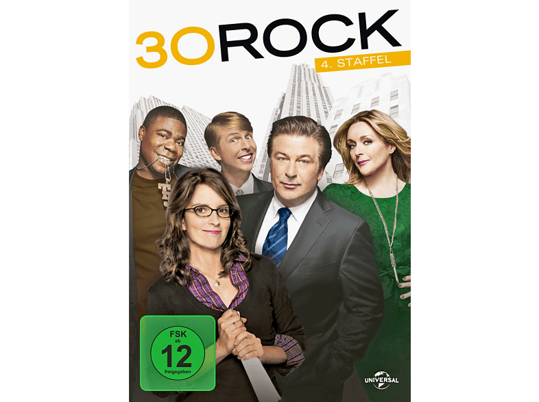 30 Rock - Staffel 4 [DVD]