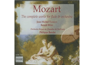 Jean-michel Tanguy, Tanguy/Wery/Orch.Royale De Wallonie - Mozart Works For Flute+Orchestra - (CD)