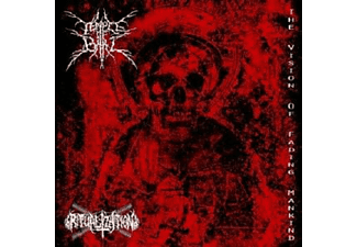 Temple Of Baal & Ritualization - The Vision Of Fading Mankind - (CD)