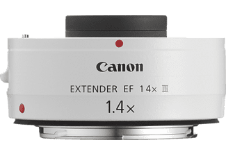 CANON Extender EF 1.4x III  f/1.4 EF, System: Canon EF, Weiß