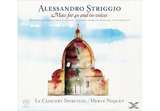 Hervé Niquet, Le Concert Spirituel - Mass for 40 and 60 voices - (SACD Hybrid)