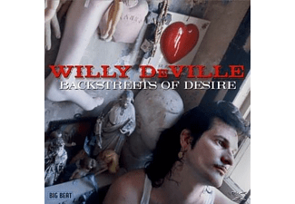 Willie De Ville, Willy Deville - Backstreets Of Desire (New Version) - (CD)
