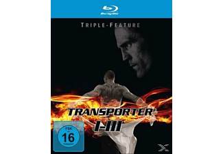 Transporter 1-3 Triple Feature - (Blu-ray)