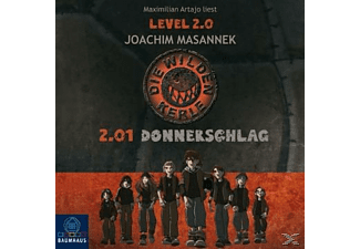 Die Wilden Kerle Level 2.01 Donnerschlag - 2 CD - Kinder/Jugend