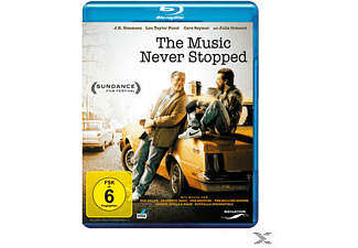 THE MUSIC NEVER STOPPED - (Blu-ray)