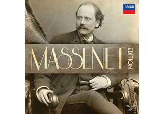 VARIOUS, The National Philharmonic Orchestra, Orchestra Of The Royal Opera House - Massenet Edition - (CD)
