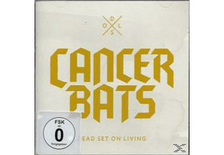 Cancer Bats - Dead Set On Living - (CD + DVD Video)
