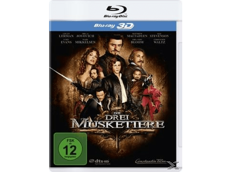 Die drei Musketiere (Single Edition) [3D Blu-ray]