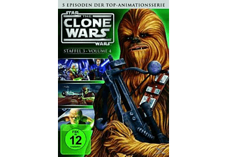 Star Wars: The Clone Wars - 3. Staffel Vol. 4 - Episoden 18-22 - (DVD)