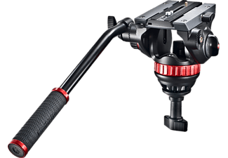 MANFROTTO MVH502A Pro Fluid Testa per cavalletto Nero