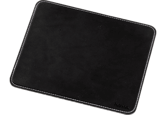 HAMA 54745 Mouse Pad with Leather Look, Black