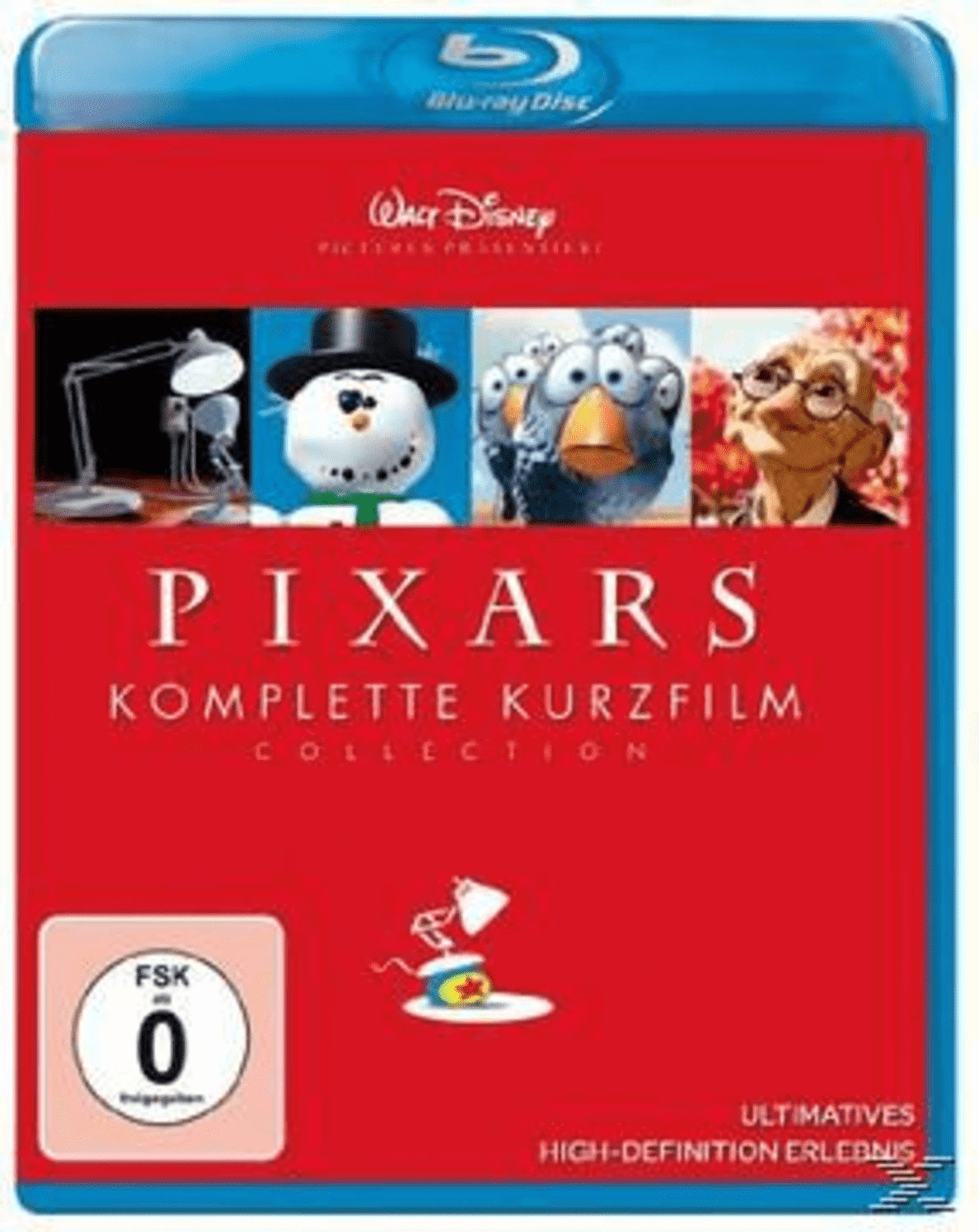 Pixars komplette Kurzfilm Collection auf Blu-ray
