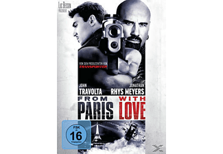 From Paris with Love Action DVD