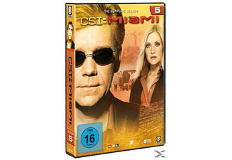CSI: Miami - Staffel 5 (komplett) - (DVD)