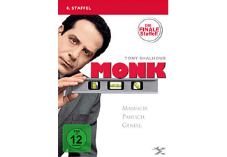 Monk - Staffel 8 [DVD]