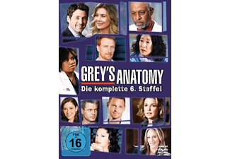 Grey's Anatomy - Staffel 6 Drama DVD