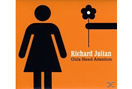 Richard Julian - GIRLS NEED ATTENTION [CD]