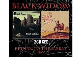 Black Widow - Return To The Sabbat - Iv - (CD)