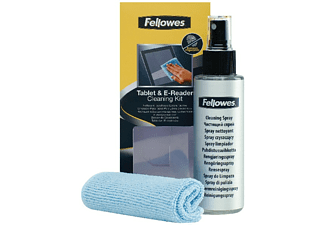 Kit limpieza - Fellowes, spray de 120ml para pantallas PC, tablet y EBook