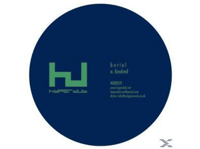 The Burial - Kindred EP [Vinyl]