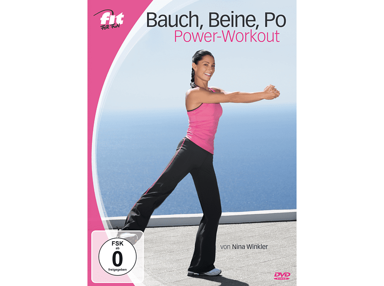 Fit For Fun - Bauch, Beine, Po Power-Workout [DVD]