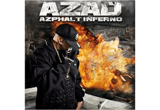 Azad - Azphalt Inferno - (CD)